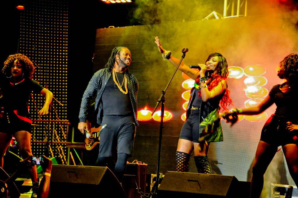 Irene Ntale and Bebe Cool