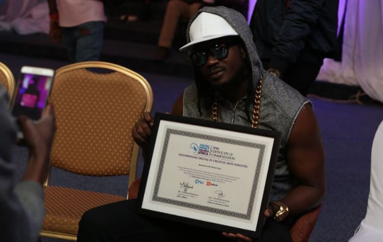 Bebe Cool wins award at the Digital Impact Awards