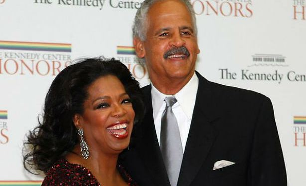Oprah Winfrey and lover Stedman Graham