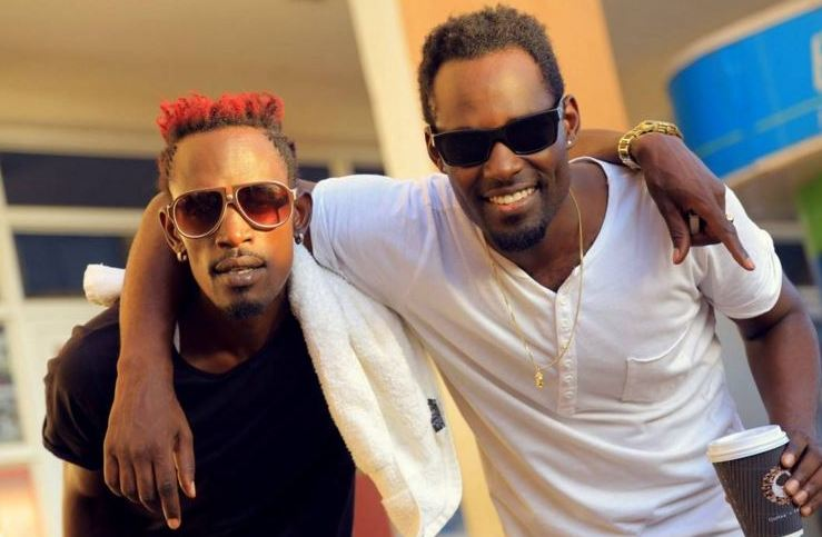 Vampino and Maurice Kirya