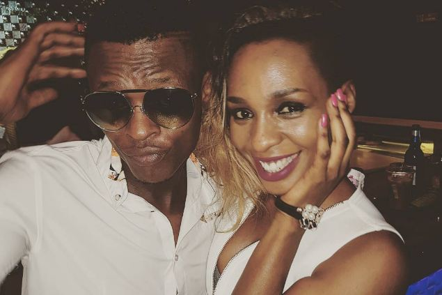 Jose Chameleone and Cindy Sanyu