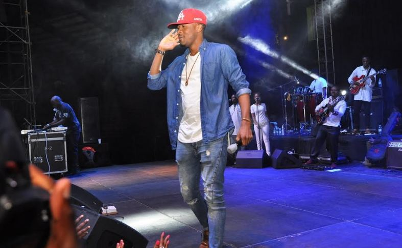 Ali Kiba performs at Blankest and Wine