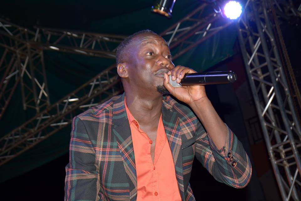 Mesach Semakula performs at Nkuziniremu-Self contained concert