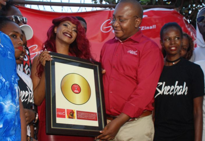 Galaxy FM honours Sheebah Karungi