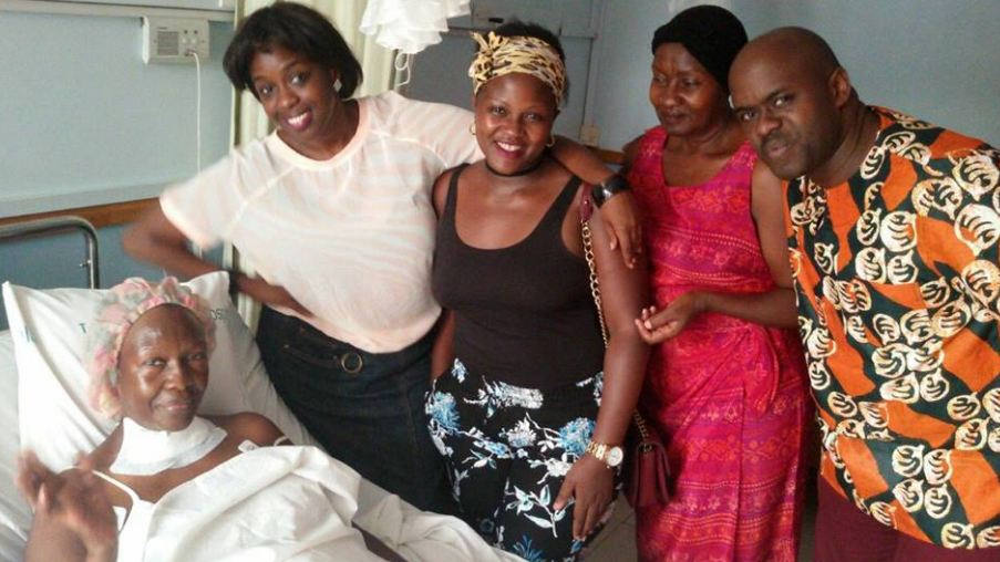 Angella Katatumba mother hospitalized