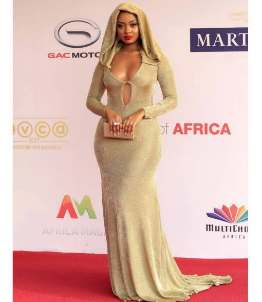 Anita Fabiola at Africa Magic Viewers Choice Awards