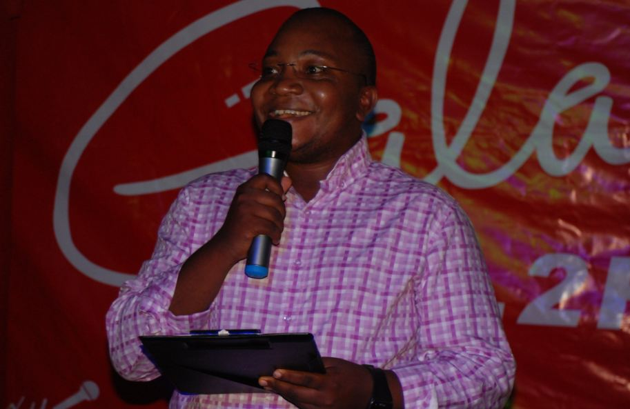 Galaxy FM CEO Nahabwe Innocent announcing the Zzina Awards nominees