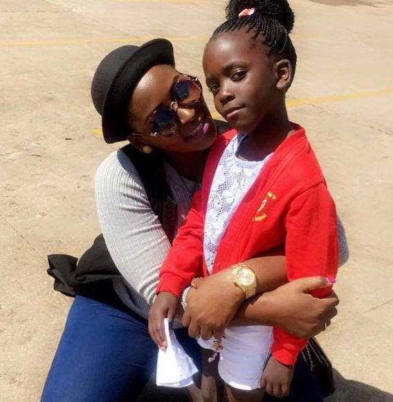 Winnie Nwagi and her daughter Destiny Mirembe