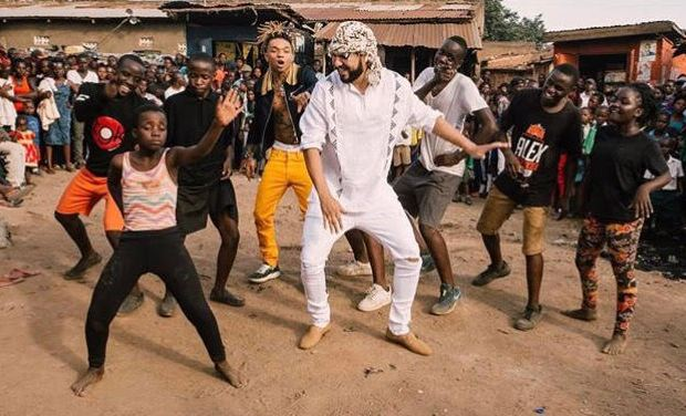 Sitya Loss kids with French Montana and Swae Lee