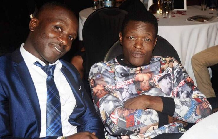 Chameleone and Robert Mutiima