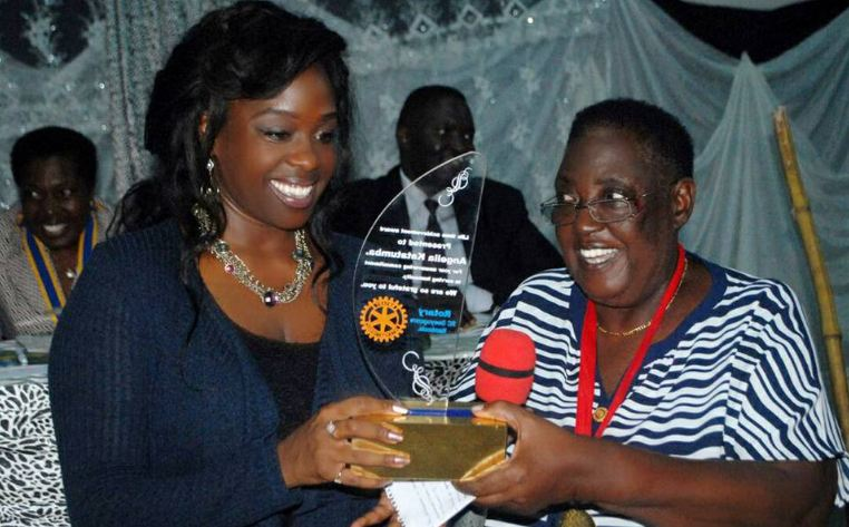 Angella Katatumba receives Lifetime Achievement Award