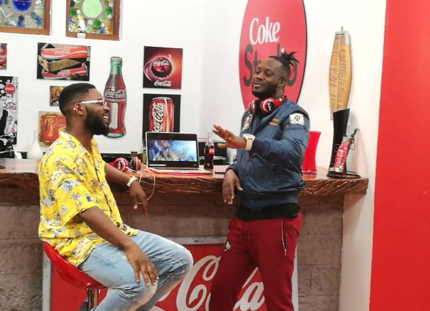Bebe Cool and Falz on Coke Studio Afrrica