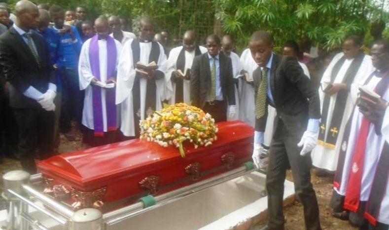Carol Atuhirwe buried at her ancestral home in Ibanda