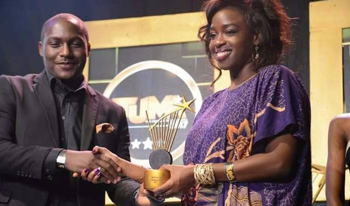Angella Katatumba scooped the Humanitarian Award at The Uganda Music Awards