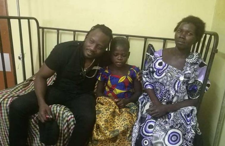 Bebe Cool to pay hospital bills of a young girl suffering from a skin disorder