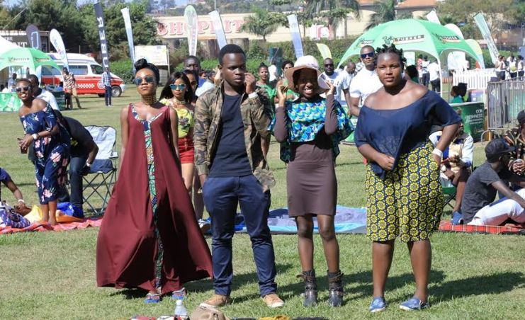 Some of the guests that graced Blankets and Wine Kampala