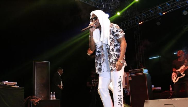 Rabadaba performs at Blankets and Wine Kampala