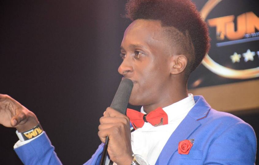 Bruno K breaks down at The Uganda Music Awards