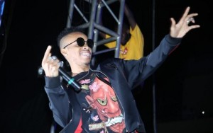 Tekno entertains fans at Uganda show