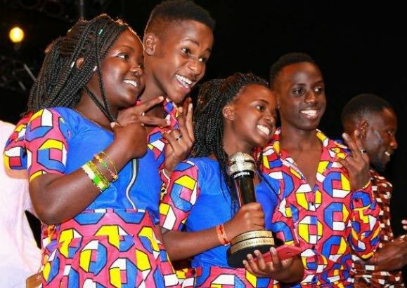 Ghetto Kids win best dancer award in AFRIMMAs