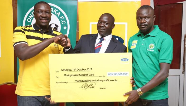 MTN Uganda to sponsor Onduparaka FC to a tune of Shs390m.