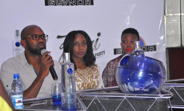 all white party press conference