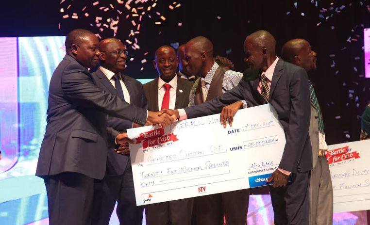 Geneber Outspan Organic Farmers are the 'Battle for Cash' winners