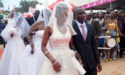 Mass Wedding at Christian Life Church on Valentine's Day