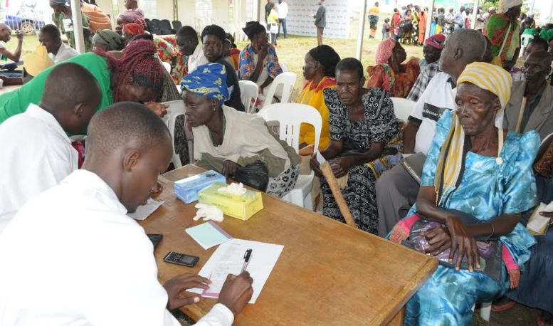 At least 3000 people were able to receive free treatment from a two day medical camp organized by Hima Cement Limited in partnership with Case Med care and medical personnel from and within Tororo district.