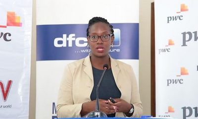 Miranda Bageine Musoke, the Manager dfcu Investment Clubs, speaking during the 'Battle for Cash' season 2 launch.