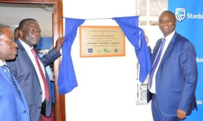 Stanbic Bank contributes UGX 197 Million towards Makerere University Sir Albert Cook Medical library renovation