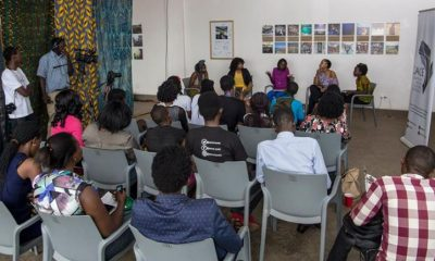 Guests attending a workshop at last year's edition of the Writivism Festival. Photo by Zahara Abdul