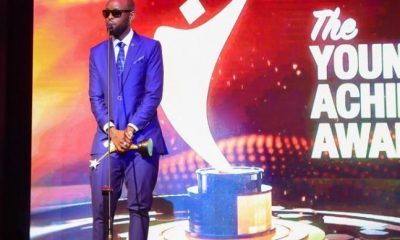 Eddy Kenzo honoured at the Young Achievers Awards