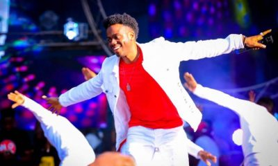Korede Bello entertaining holiday makers at the Fly Fest
