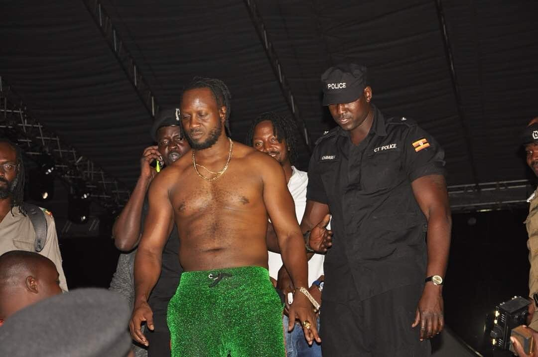 Bebe Cool forced off stage at Swangz All Star concert