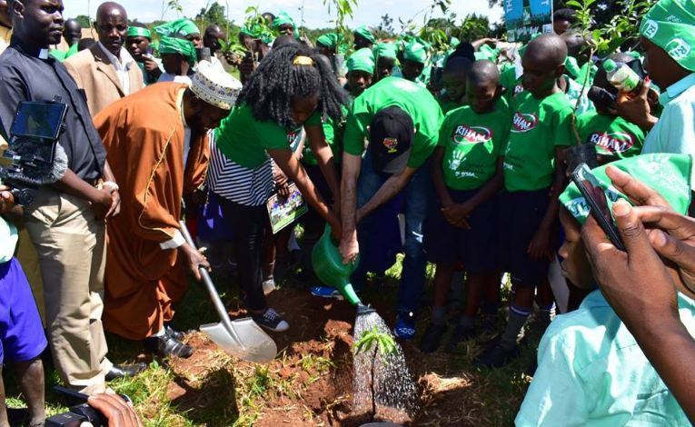 Little Hands Go Green Greening campaign
