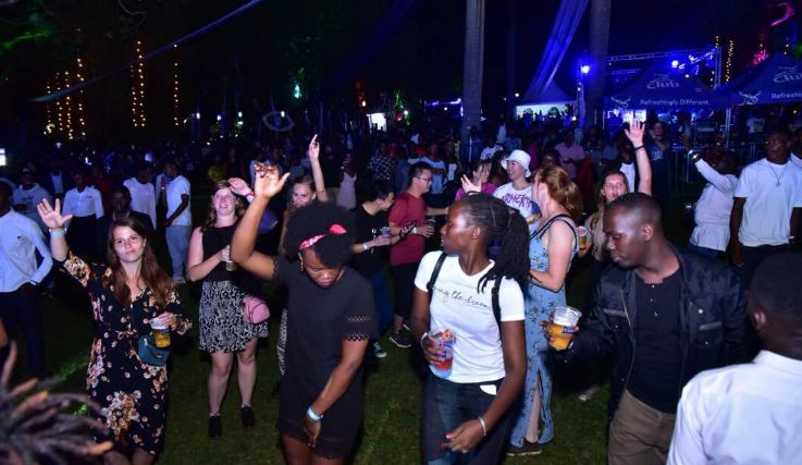 Major Lazer show in Kampala