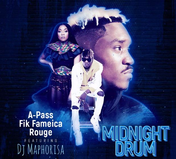 "A Pass and Fik Fameica have teamed up with South African female rapper Rouge in a song titled ""Midnight Drum"""