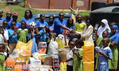 Roke Telkom offers support to children at Good Samaritan orphanage