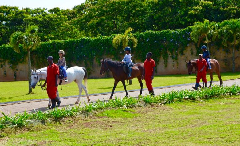 Horse Riding at Speke Resort Munyonyo