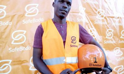 Moses Musinguzi, the first ever SafeBoda rider.