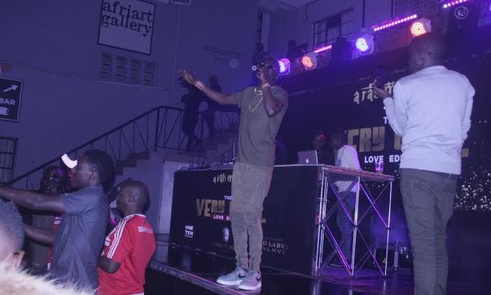 King Saha performs at the Arab Money Party