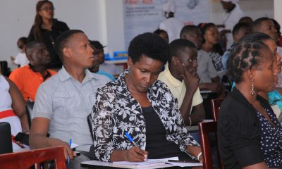 Entrepreneurs take notes during the workshop.