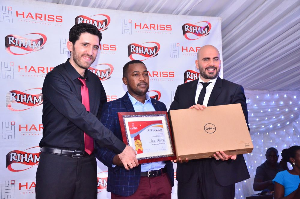 Hariss International Limited rewards employees