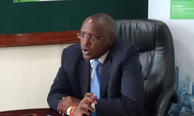 Edgar Byamah, the MD KCB Bank Uganda.