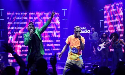 Weasel and King Saha perform