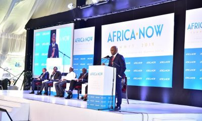 UBA Group Chairman and Founder Tony Elumelu delivers key note address on The Leadership Needed to Catalyse Africa's Transformation at the 2019 Africa Now Summit.