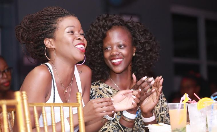 Revelers at the Johnnie Walker  Unplugged show