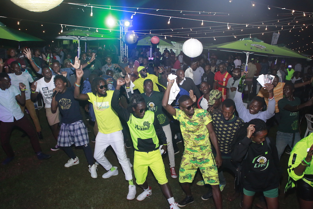Neon Rave party in Mbarara