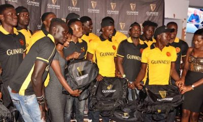 Rugby Cranes 7s team poses for a group photo at the send off party.